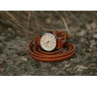 """Кварцевые часы """"Спираль времени"""""""
