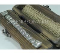 Серебряные перекидные четки 925 пробы