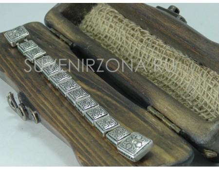 Заказать серебряные перекидные четки 925 пробы