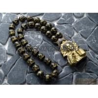 Четки «Спаси и Сохрани» черное золото