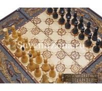 """Шахматы-нарды-шашки """"Классика 3"""""""