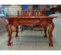 Шахматный стол «Ледовое побоище»