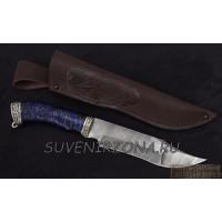 Нож из дамасской стали «Окунь 3»