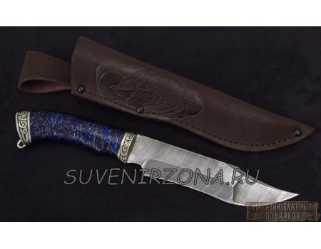 Купить нож из дамасской стали «Окунь 3»