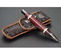 Шариковая ручка ручной работы «Северное сияние»