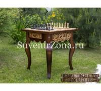 """Шахматный стол ручной работы """"Вдохновение 1"""""""