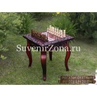 """Шахматный стол ручной работы """"Вдохновение 3"""""""