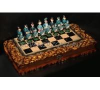 Набор нард и шахмат с ларцом «Анекдот»