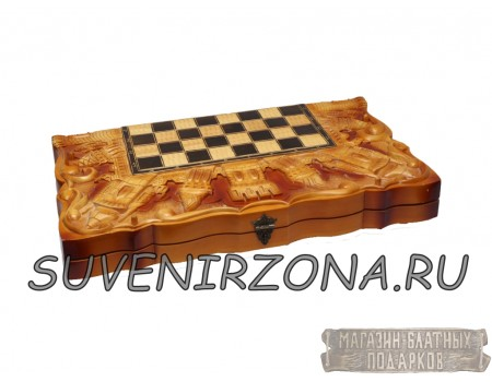 Купить шахматы ручной работы «Шоколад»