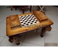 Стол игровой Шахматы-Нарды-Шашки «Львы»